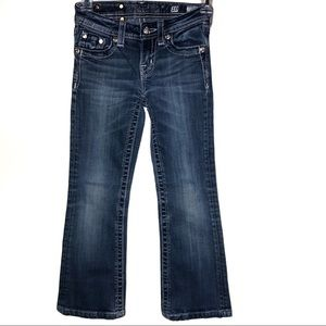 Miss me jeans Embellished Bootcut/10 girls